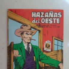 Tebeos: HAZAÑAS DEL OESTE. Nº 102. TORAY.. Lote 103148255