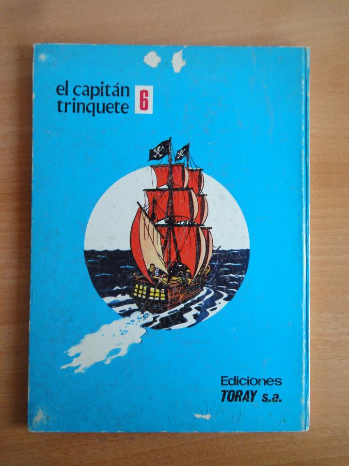Tebeos: El capitan trinquete. Num 6. Hundid al cangrejo (Toray, 1971) - Foto 2 - 103497714