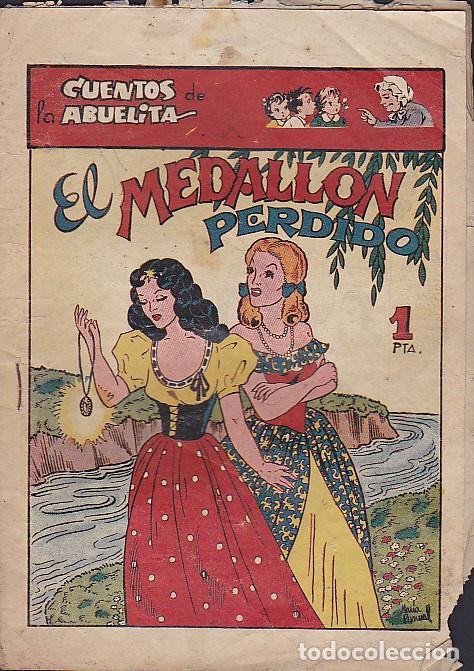 COMIC COLECCION CUENTOS DE LA ABUELITA EL MEDALLON PERDIDO (Tebeos y Comics - Toray - Cuentos de la Abuelita)