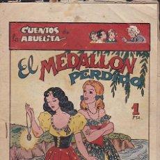Tebeos: COMIC COLECCION CUENTOS DE LA ABUELITA EL MEDALLON PERDIDO . Lote 110355095