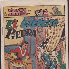 Tebeos: COMIC COLECCION CUENTOS DE LA ABUELITA EL EJERCITO DE PIEDRA. Lote 103664891