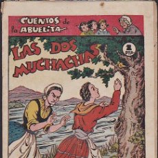 Tebeos: COMIC COLECCION CUENTOS DE LA ABUELITA LAS DOS MUCHACHAS . Lote 103664923
