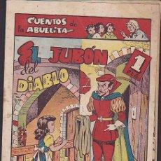 Tebeos: COMIC COLECCION CUENTOS DE LA ABUELITA EL JUBON DEL DIABLO. Lote 103664999