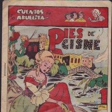 Tebeos: COMIC COLECCION CUENTOS DE LA ABUELITA PIES DE CISNE. Lote 103665179