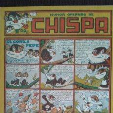 Tebeos: CHISPA Nº 21. Lote 103835051