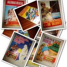 Tebeos: LOTE 8 COMICS DE HAZAÑAS BÉLICAS. Lote 103843039