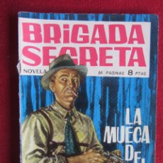 Tebeos: BRIGADA SECRETA Nº 11 ED. TORAY 1962. Lote 103994287