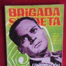 Tebeos: BRIGADA SECRETA Nº 54 ED. TORAY 1964. Lote 103994439