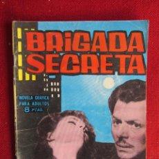 Tebeos: BRIGADA SECRETA Nº 51 ED. TORAY 1964. Lote 103994515