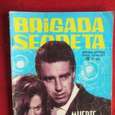 Tebeos: BRIGADA SECRETA Nº 53 ED. TORAY 1964. Lote 103994655