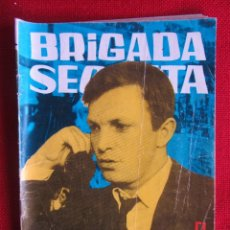 Tebeos: BRIGADA SECRETA Nº 48 ED. TORAY 1964. Lote 103994787
