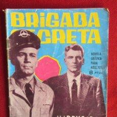 Tebeos: BRIGADA SECRETA Nº 69 ED. TORAY 1964. Lote 103994871