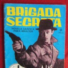 Tebeos: BRIGADA SECRETA Nº 58 ED. TORAY 1964. Lote 103995219