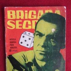 Tebeos: BRIGADA SECRETA Nº 57 ED. TORAY 1964. Lote 103995295
