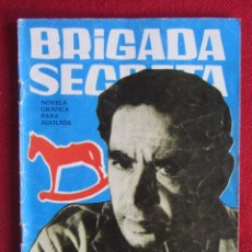Tebeos: BRIGADA SECRETA Nº 61 ED. TORAY 1964. Lote 103995387