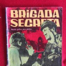 Tebeos: BRIGADA SECRETA Nº 35 ED. TORAY 1963. Lote 103995491