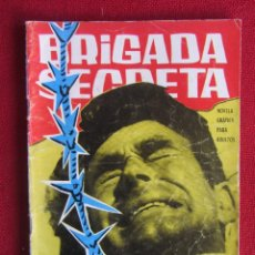 Tebeos: BRIGADA SECRETA Nº 35 ED. TORAY 1964. Lote 103995535