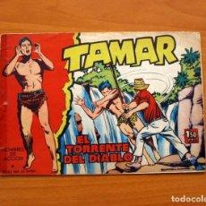 Tebeos: TAMAR - Nº 5, EL TORRENTE DEL DIABLO - EDICIONES TORAY 1961. Lote 104356075