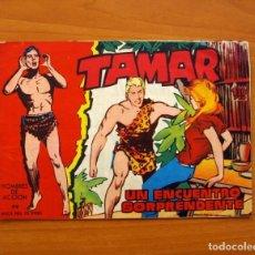 Tebeos: TAMAR - Nº 58, UN ENCUENTRO SORPRENDENTE - EDICIONES TORAY 1961 . Lote 104357287