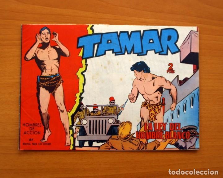 TAMAR - Nº 97, LA LEY DEL HOMBRE BLANCO - EDICIONES TORAY 1961 (Tebeos y Comics - Toray - Tamar)