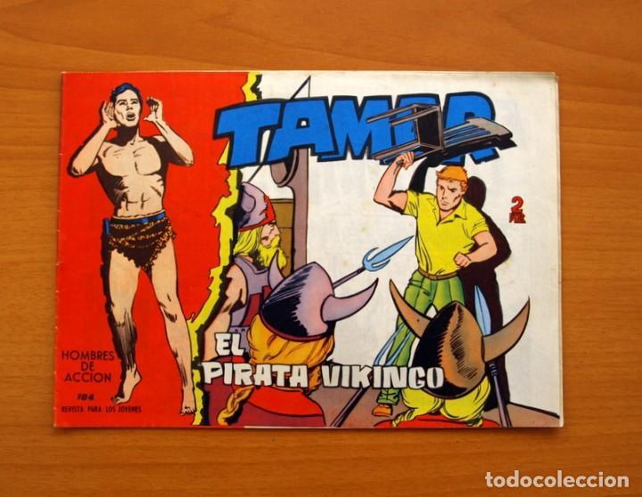 TAMAR - Nº 104, EL PIRATA VIKINGO - EDICIONES TORAY 1961 (Tebeos y Comics - Toray - Tamar)