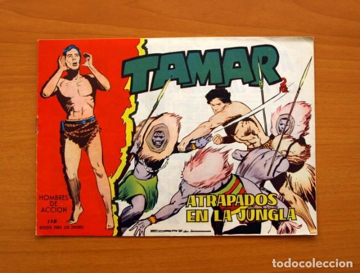 TAMAR - Nº 110, ATRAPADOS EN LA JUNGLA - EDICIONES TORAY 1961 (Tebeos y Comics - Toray - Tamar)