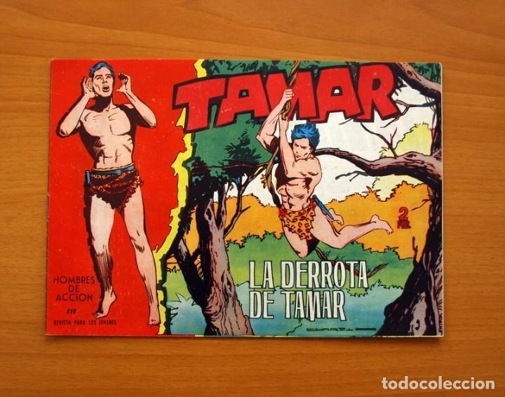 TAMAR - Nº 111, LA DERROTA DE TAMAR - EDICIONES TORAY 1961 (Tebeos y Comics - Toray - Tamar)