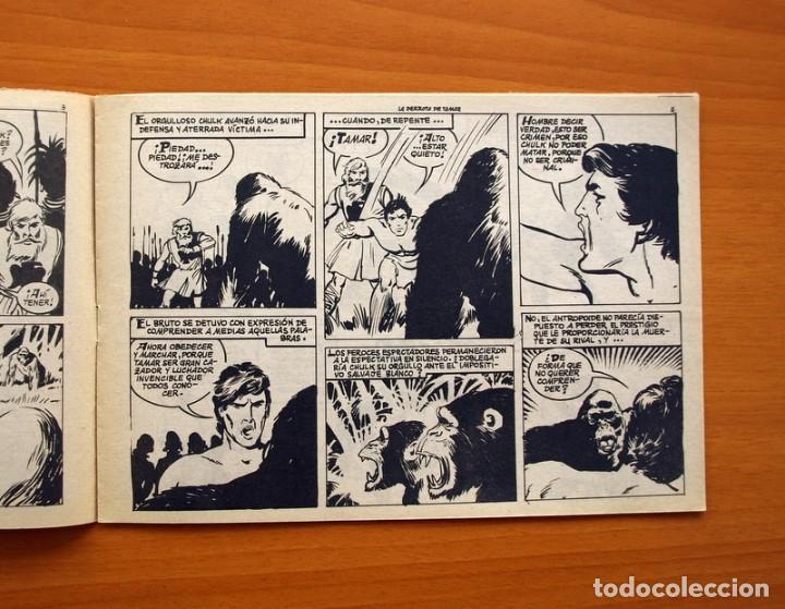 Tebeos: Tamar - Nº 111, La derrota de Tamar - Ediciones Toray 1961 - Foto 3 - 104359163
