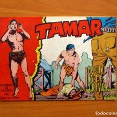 Tebeos: TAMAR - Nº 132, COGIDO EN LA TRAMPA - EDICIONES TORAY 1961 . Lote 104360087