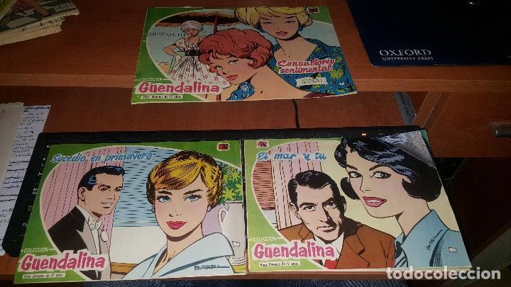 GUENDALINA, NUMEROS 1 - 3 - 5 (Tebeos y Comics - Toray - Guendalina)