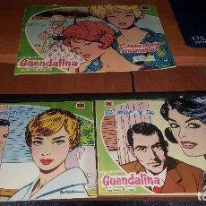 Tebeos: GUENDALINA, NUMEROS 1 - 3 - 5. Lote 104532859