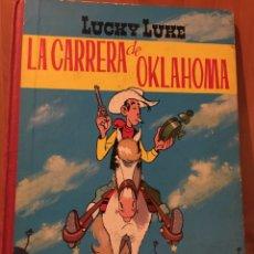 Tebeos: LUCKY LUKE-LA CARRERA DE OKLAHOMA-TORAY 1969. Lote 104544795