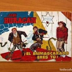 Tebeos: JIM HURACÁN - Nº 7, EL ENMASCARADO ERES TÚ - EDICIONES TORAY 1959. Lote 104711303