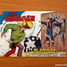 Tebeos: JIM HURACÁN - Nº 31, EL AMO DE MONTERREY - EDICIONES TORAY 1959 . Lote 104713643