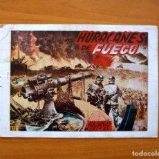 Tebeos: HAZAÑAS BÉLICAS 2ª SERIE, Nº 43, HURACANES DE FUEGO - EDICIONES TORAY 1950. Lote 104715559