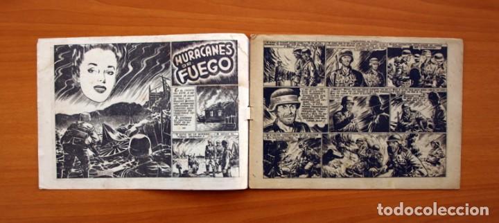 Tebeos: Hazañas Bélicas 2ª Serie, nº 43, Huracanes de fuego - Ediciones Toray 1950 - Foto 2 - 104715559