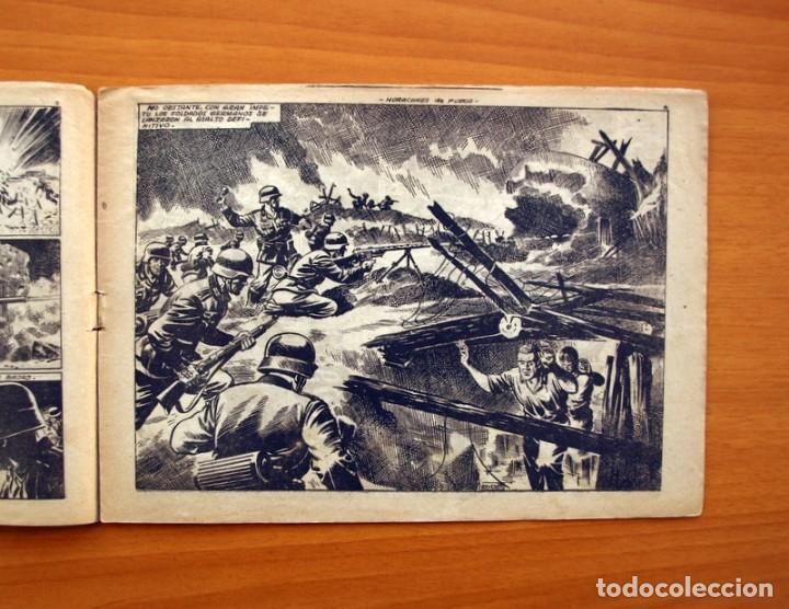 Tebeos: Hazañas Bélicas 2ª Serie, nº 43, Huracanes de fuego - Ediciones Toray 1950 - Foto 3 - 104715559