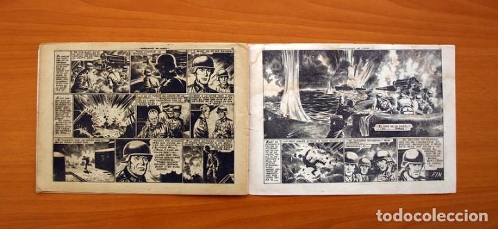 Tebeos: Hazañas Bélicas 2ª Serie, nº 43, Huracanes de fuego - Ediciones Toray 1950 - Foto 6 - 104715559