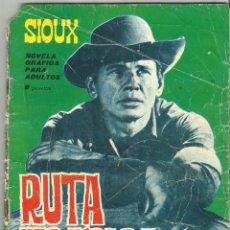 Tebeos: SIOUX - Nº 40 - RUTA TRÁGICA - EDICIONES TORAY - 1965. Lote 104818979