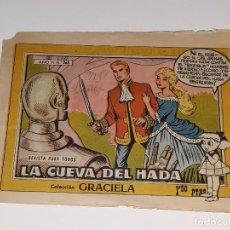 Tebeos: ANTIGUO COMIC GRACIELA AÑO VI Nº 268 LA CUEVA DEL HADA - EDICIOES TORAY AÑO 1958. Lote 104929315