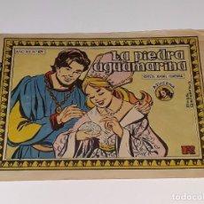 Livros de Banda Desenhada: ANTIGUO COMIC COLECCION AZUCENA AÑO XIX Nº 829 - LA PIEDRA AGUAMARINA - EDICIONES TORAY AÑOS 50. Lote 104949347
