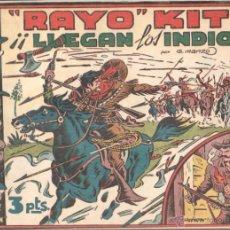 Tebeos: RAYO KIT ORIGINAL TORAY 1949 COMPLETA - JUAN GARCÍA IRANZO, VER IMÁGENES. Lote 104952091