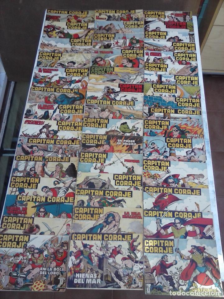EL CAPITÁN CORAJE ORIGINAL TORAY 1958 COMPLETA 1 AL 44 IRANZO, SUELTA, VER TODAS LAS PORTADAS (Tebeos y Comics - Toray - Otros)