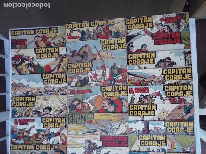Tebeos: EL CAPITÁN CORAJE ORIGINAL TORAY 1958 COMPLETA 1 AL 44 IRANZO, SUELTA, VER TODAS LAS PORTADAS - Foto 3 - 105026571