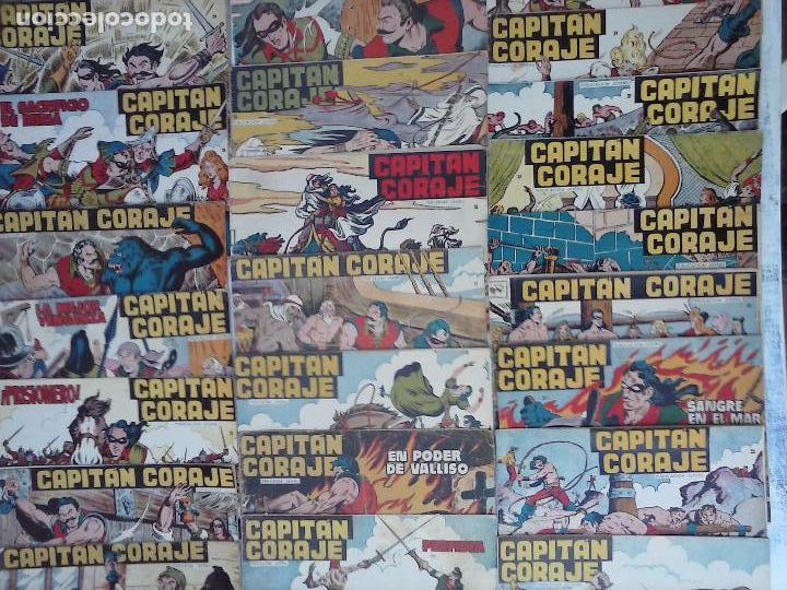 Tebeos: EL CAPITÁN CORAJE ORIGINAL TORAY 1958 COMPLETA 1 AL 44 IRANZO, SUELTA, VER TODAS LAS PORTADAS - Foto 4 - 105026571
