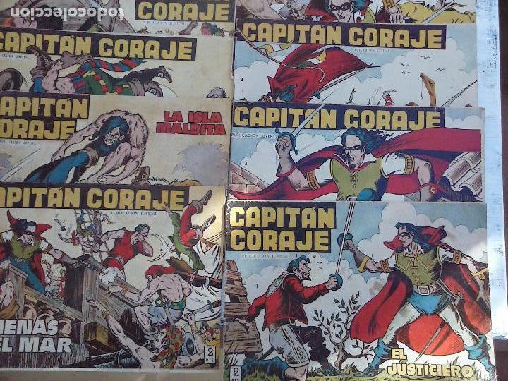Tebeos: EL CAPITÁN CORAJE ORIGINAL TORAY 1958 COMPLETA 1 AL 44 IRANZO, SUELTA, VER TODAS LAS PORTADAS - Foto 5 - 105026571