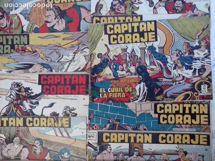 Tebeos: EL CAPITÁN CORAJE ORIGINAL TORAY 1958 COMPLETA 1 AL 44 IRANZO, SUELTA, VER TODAS LAS PORTADAS - Foto 6 - 105026571