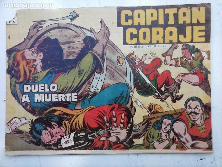 Tebeos: EL CAPITÁN CORAJE ORIGINAL TORAY 1958 COMPLETA 1 AL 44 IRANZO, SUELTA, VER TODAS LAS PORTADAS - Foto 11 - 105026571