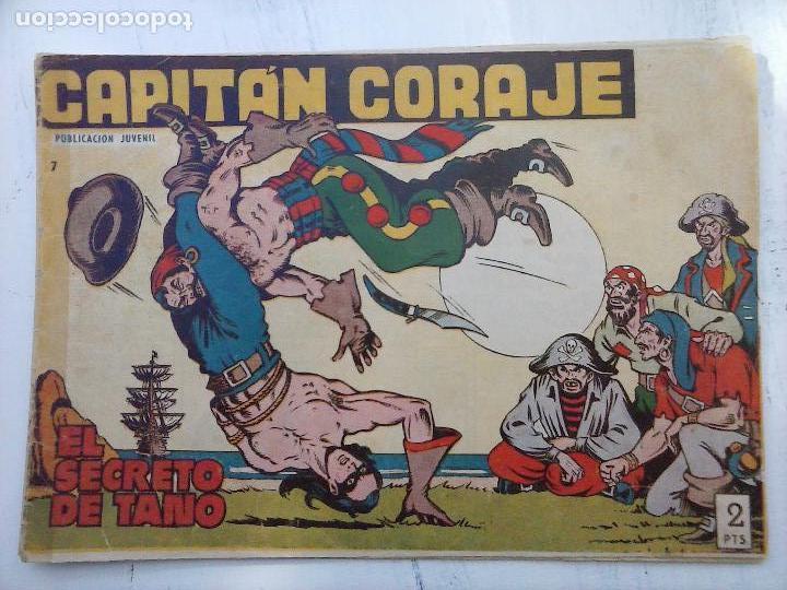 Tebeos: EL CAPITÁN CORAJE ORIGINAL TORAY 1958 COMPLETA 1 AL 44 IRANZO, SUELTA, VER TODAS LAS PORTADAS - Foto 14 - 105026571