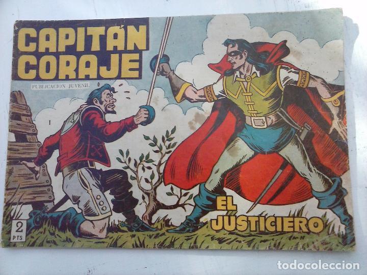 Tebeos: EL CAPITÁN CORAJE ORIGINAL TORAY 1958 COMPLETA 1 AL 44 IRANZO, SUELTA, VER TODAS LAS PORTADAS - Foto 17 - 105026571